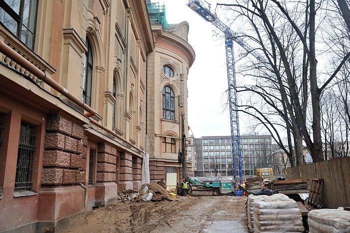 Rekonstrukcija. Latvijas Nacionâlais mâkslas muzejs. .  12/02/2014 foto: Timurs Subhankulovs/Latvijas Avîze