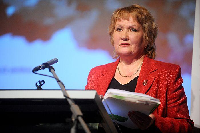 Latvijas Lauksaimniecības universitātes rektore profesore Irina Pilvere.