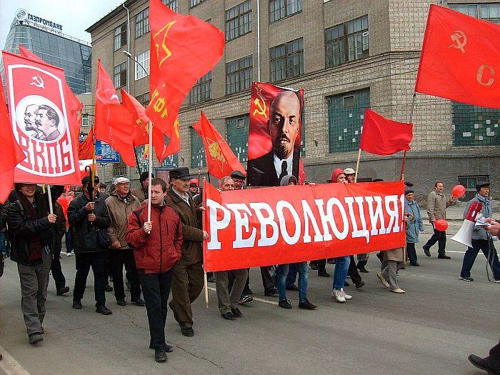 2014. gada 1.maija gājiens Maskavā