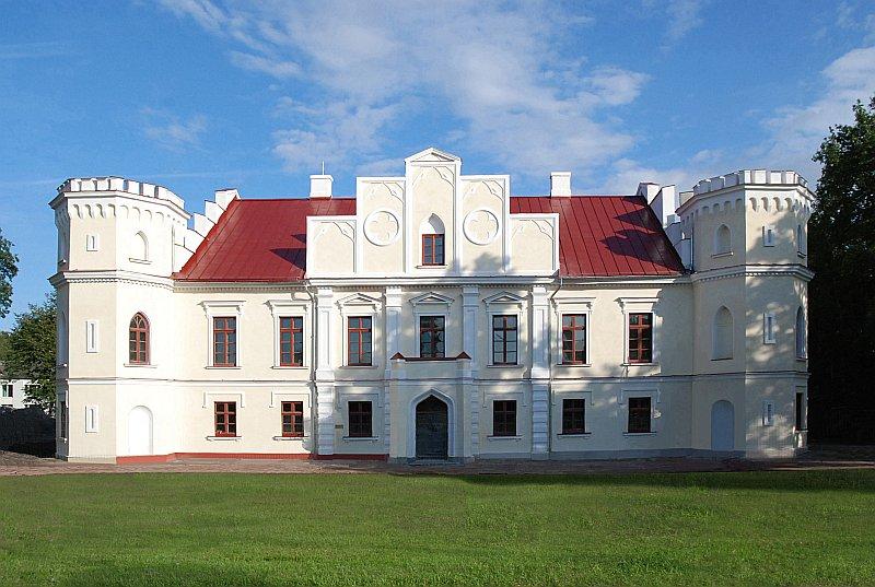 Svaigi atjaunota arī Valdekas pils Jelgavā.