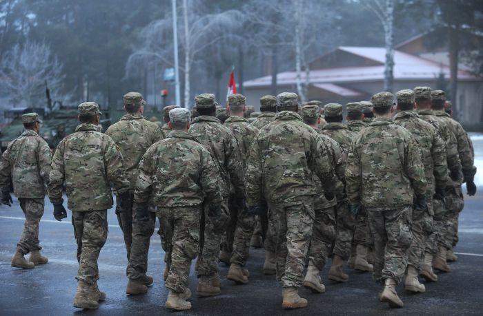 Ilustratīvs attēls. Ādažu militārajā bāzē.