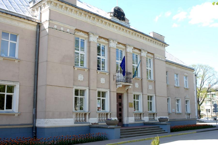 Rēzeknes pilsētas domes ēka.