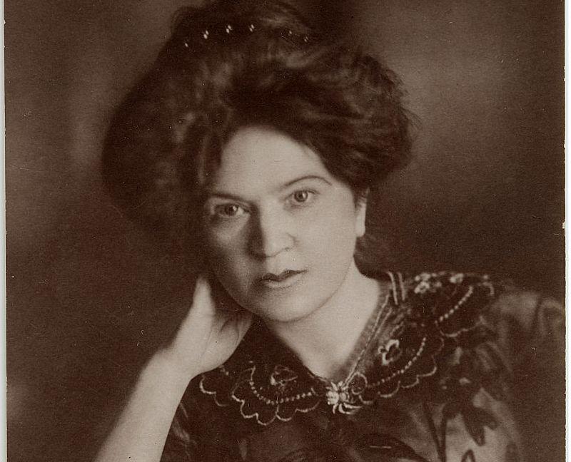 Aspazija 1913. gada 4. martā Cīrihē.