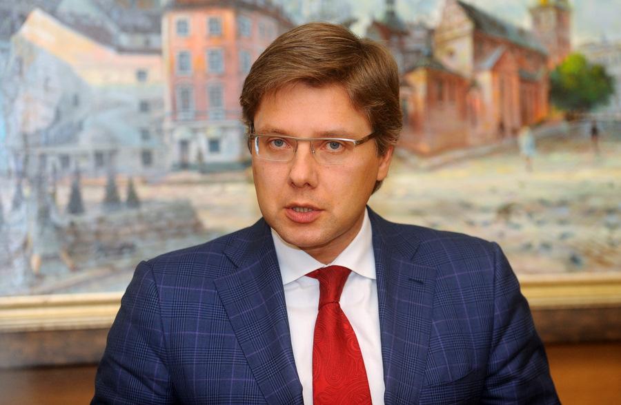 Rīgas domes priekšsēdētājs Nils Ušakovs.