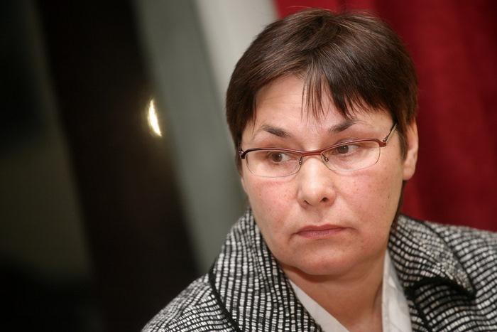 Latvijas Ģimenes ārstu asociācijas prezidente Sarmīte Veide.