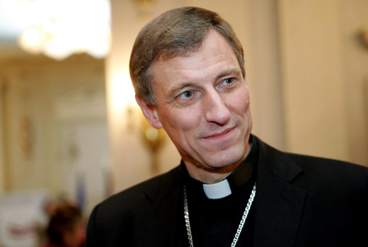 Romas Katoļu baznīcas Rīgas arhibīskaps Zbigņevs Stankevičs.