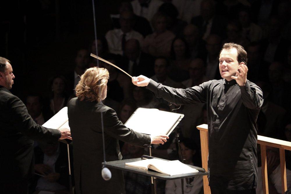Andris Nelsons kopā ar Bostonas Simfonisko orķestri.
