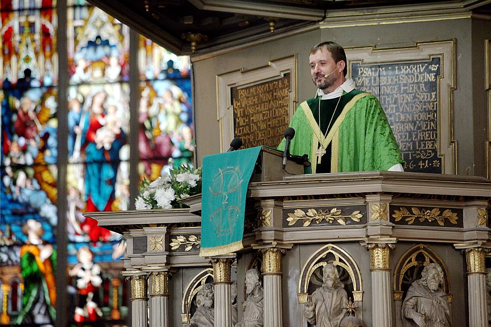 LELB arhibīskaps Jānis Vanags.