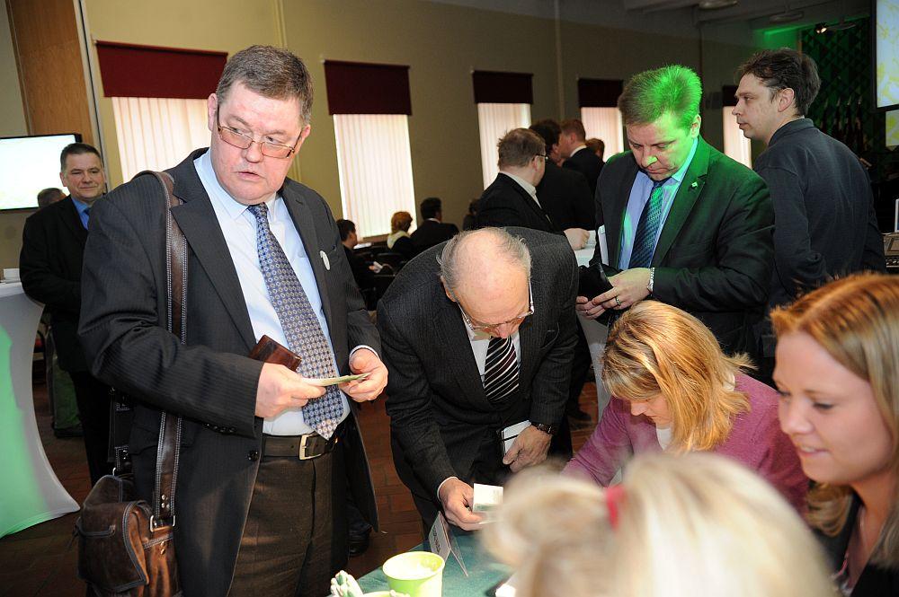 Saeimas deputāts Kārlis Seržants piedalās Latvijas Zaļās partijas kongresā.