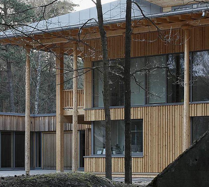 Arhitekts Ervīns Krauklis dzīvojamo ēku projektējis pēc pasīvās mājas principiem.