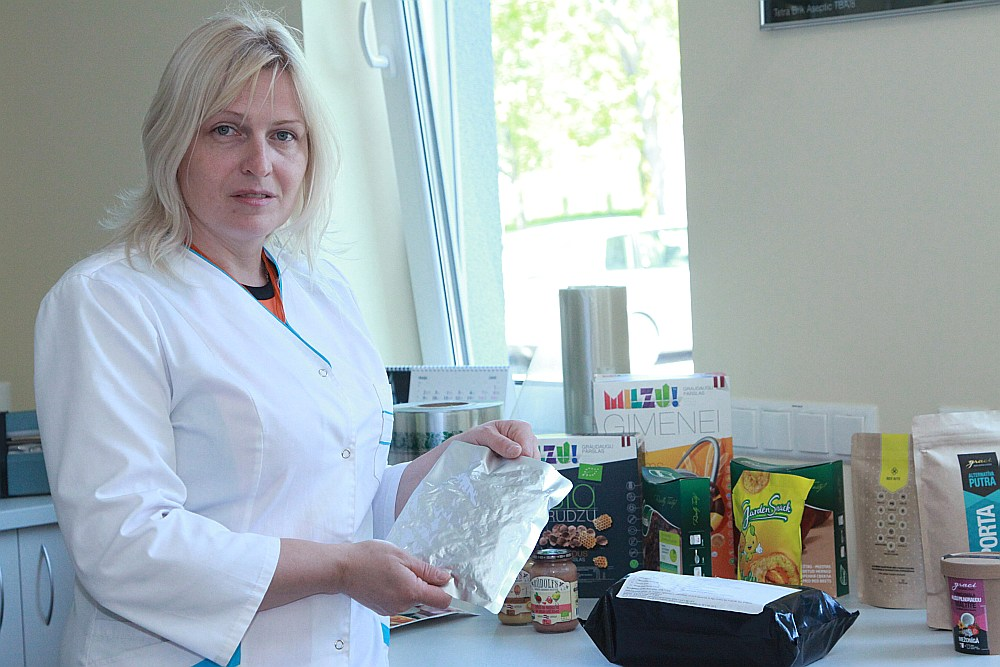 Sandra Muižniece-Brasava, LLU Pārtikas tehnoloģijas katedras profesore un vadošā pētniece.