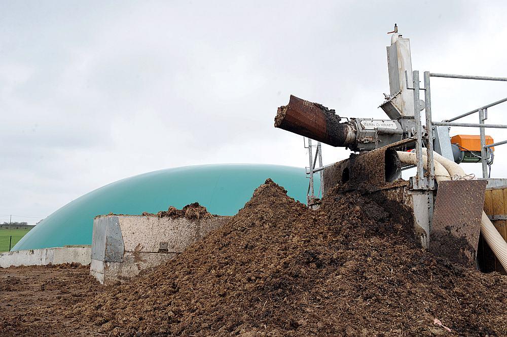 Ilustratīvs attēls. Biogāzes stacija.