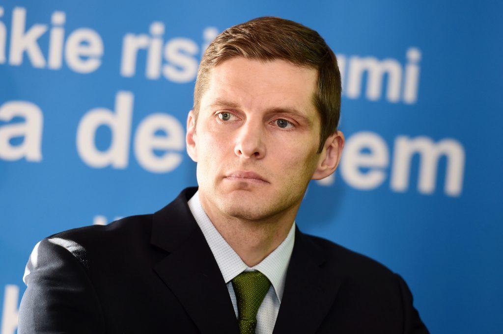 """SEB bankas"" ekonomists Dainis Gašpuitis."