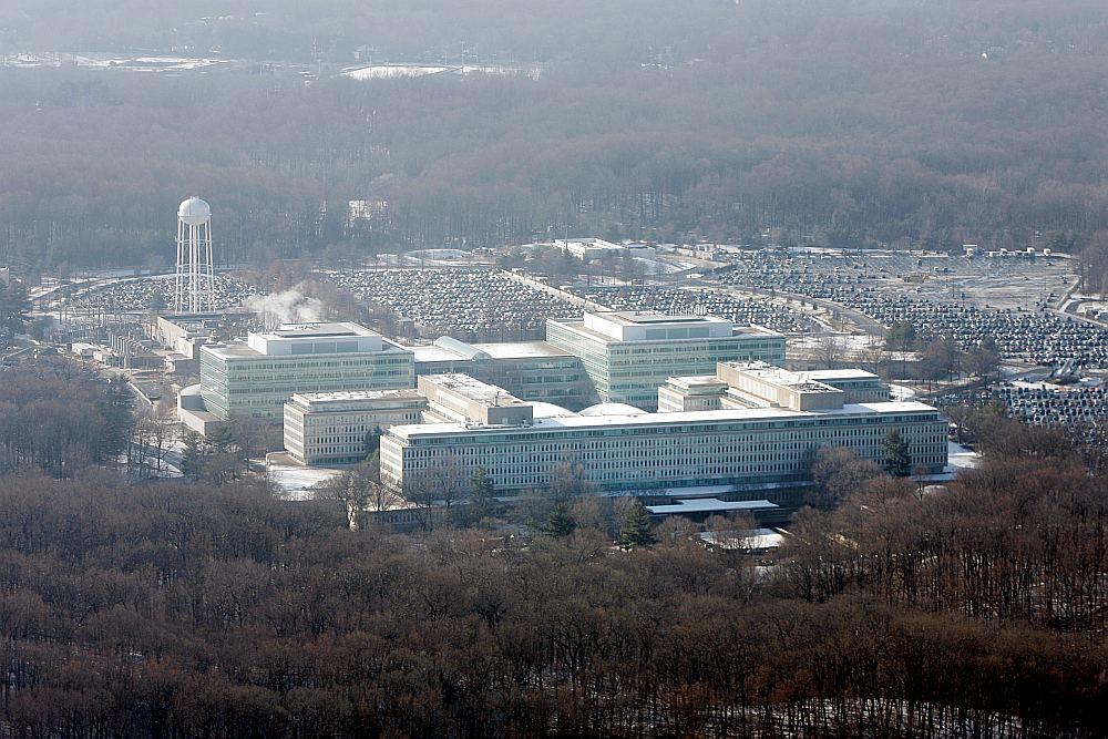 ASV Centrālās izlūkošanas pārvaldes galvenā mītne Lenglijā, Virdžīnijas štatā.