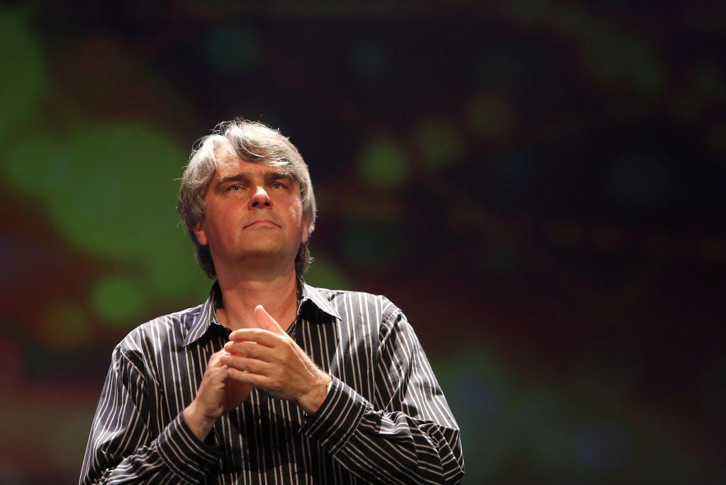 Mūziķis un dziesmu autors Ainars Mielavs.