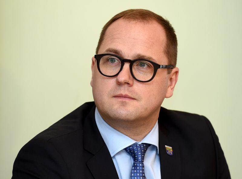 Salaspils novada domes priekšsēdētājs Raimonds Čudars