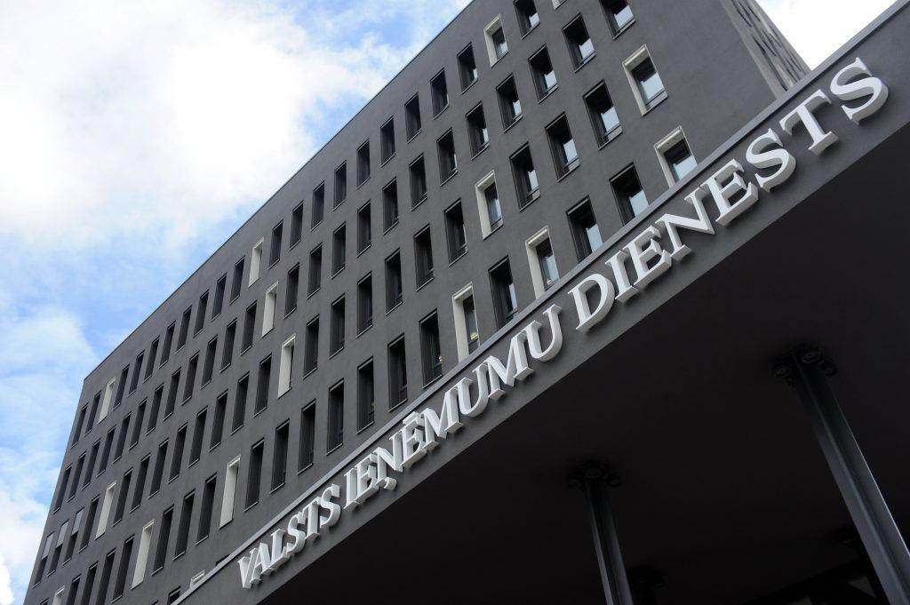 Valsts ieņēmumu dienesta ēka.