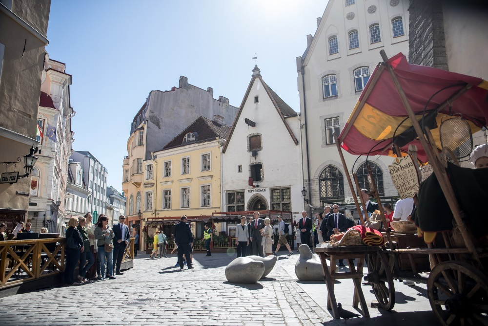 Tallina Igaunijā, 2018.gada jūnijs.