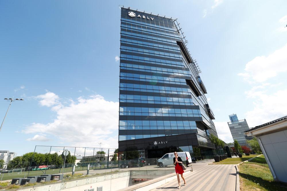 """ABLV Bank"" Rīgā."