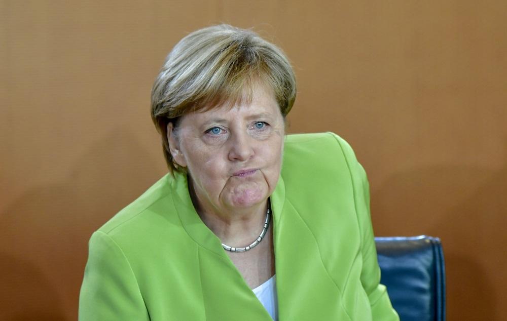 Vācijas kancele Angela Merkele.