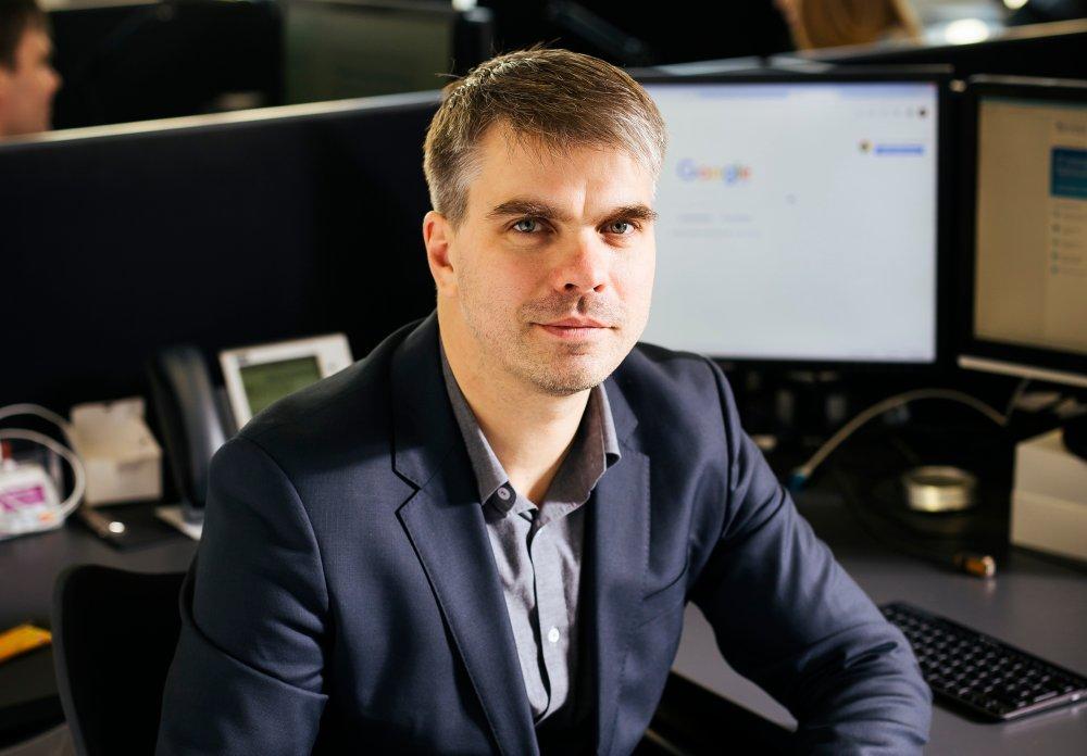 """Austris Vasiļevskis, """"Exigen Services Latvia"""" klientu partneris"""