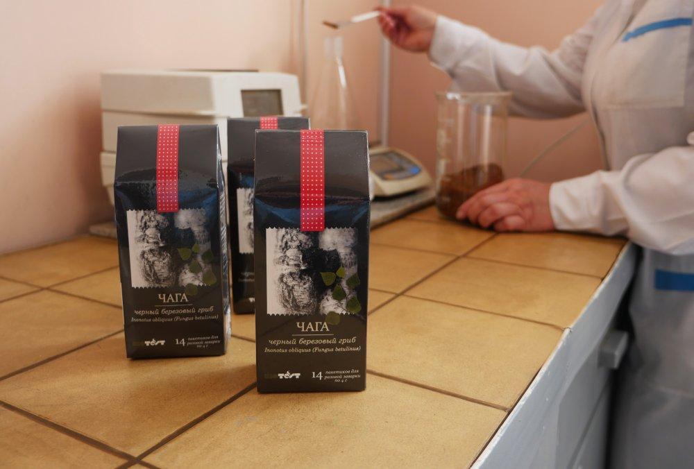 """""""Olainfarm"""" meitasuzņēmuma Baltkrievijā """"NPK Biotest"""" ražotā tēja"""