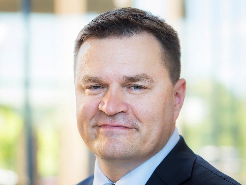 """Bogdans Benčaks, apdrošināšanas sabiedrības """"Ergo"""" valdes priekšsēdētājs."""