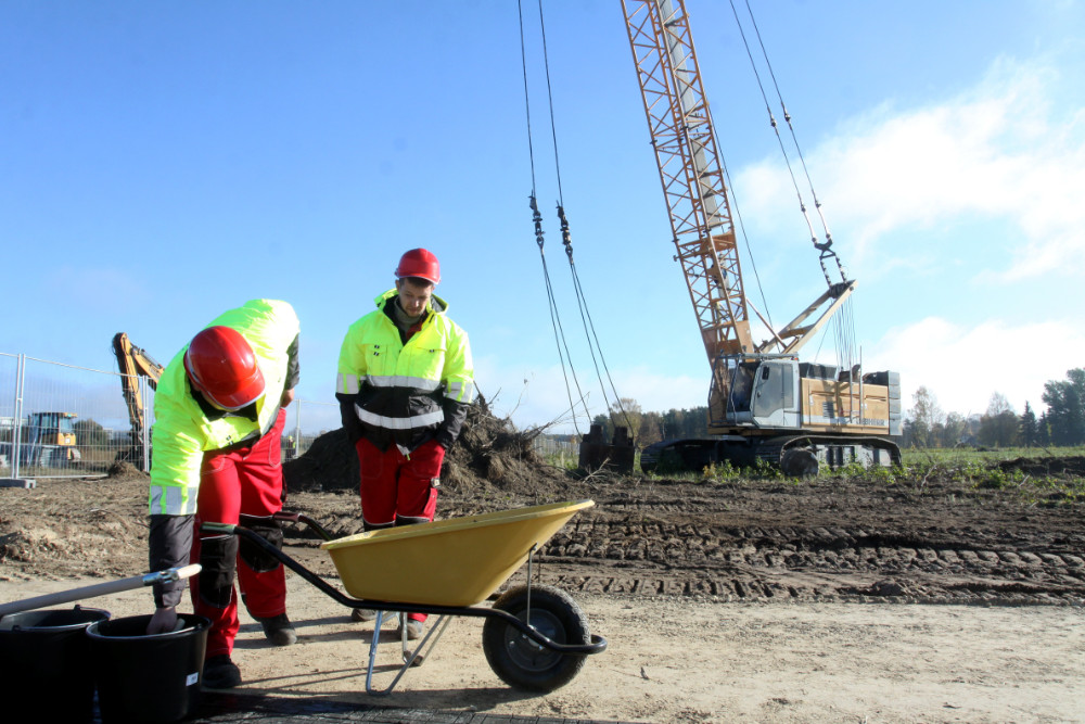 """""""Lidl Latvija"""" loģistikas centra būvniecības uzsākšanas pasākums"""