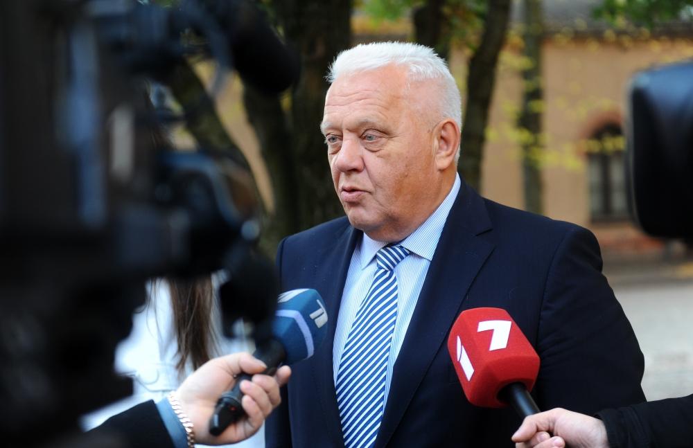 """Biedrības """"Latvijas Ceļu būvētājs"""" valdes priekšsēdētājs Andris Bērziņš."""