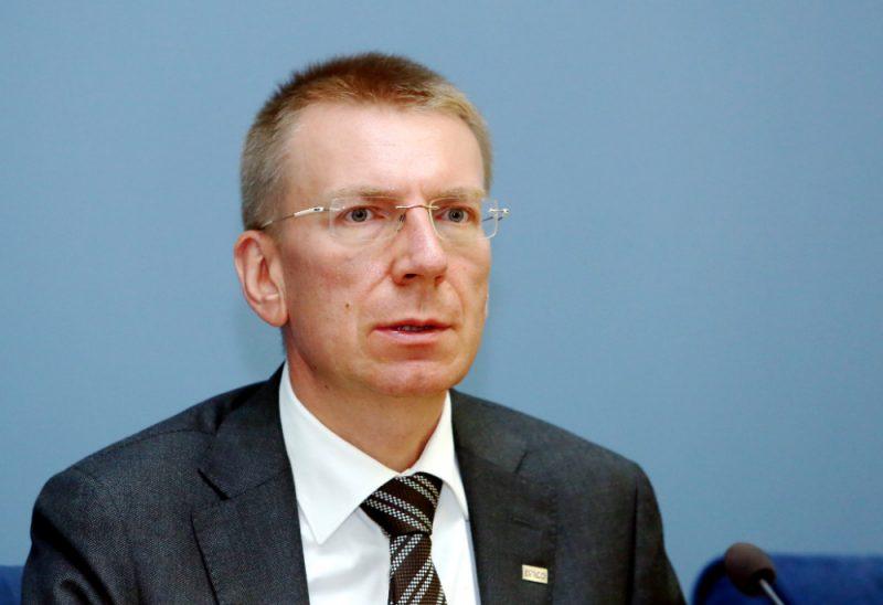 Ārlietu ministrs Edgars Rinkēvičs.