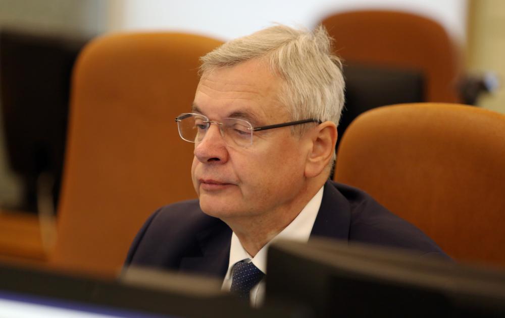 Izglītības un zinātnes ministrs Kārlis Šadurskis.