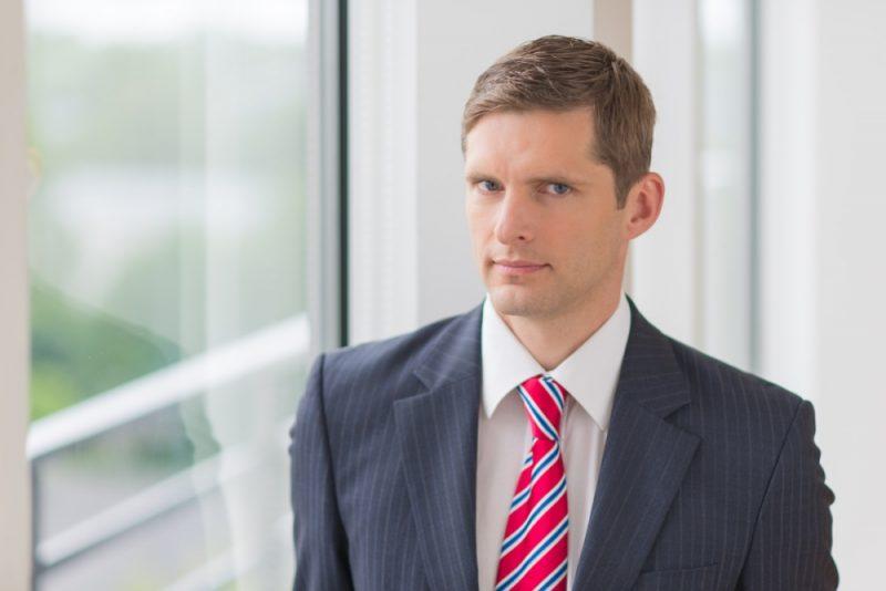 """SEB bankas"" makroekonomikas eksperts Dainis Gašpuitis."