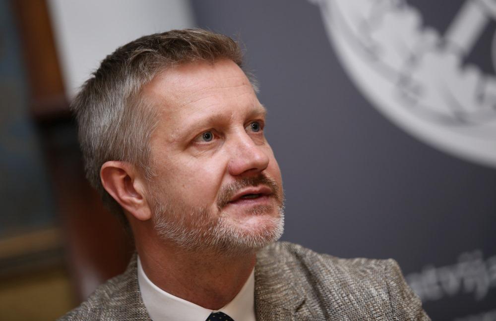 Latvijas Tirdzniecības un rūpniecības kameras valdes priekšsēdētājs Jānis Endziņs.