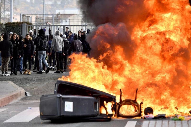 Protesti Francijā.