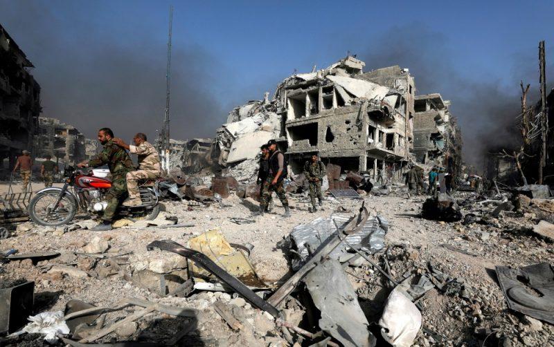 Ilustratīvs foto. Sīrija.