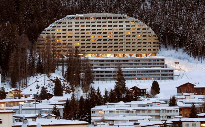 Šveice, Davosa.