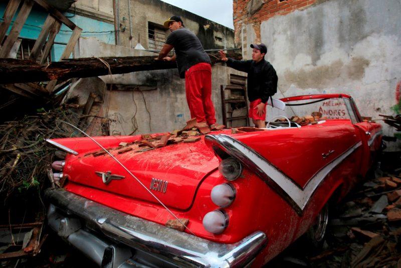 Tornado plosījies Kubas galvaspilsētā Havanā, 28.01.2019.