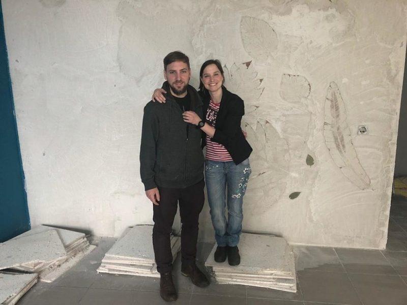 """""""Cafe M"""" izveidotāji Ulla Milbreta un viņas vīrs Johans Safrajs."""