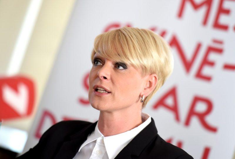 Vakcinācijas biroja vadītāja Eva Juhņēviča.
