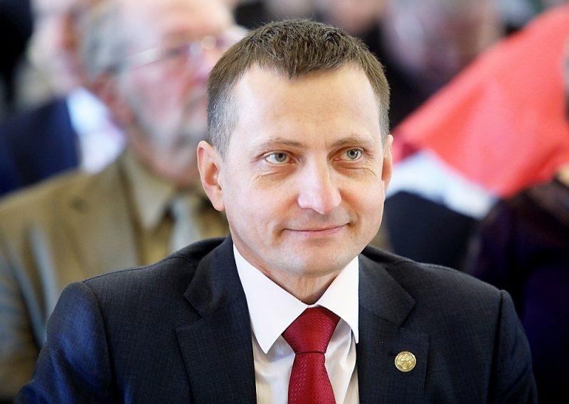 Latvijas Zemnieku savienības priekšsēdis Armands Krauze