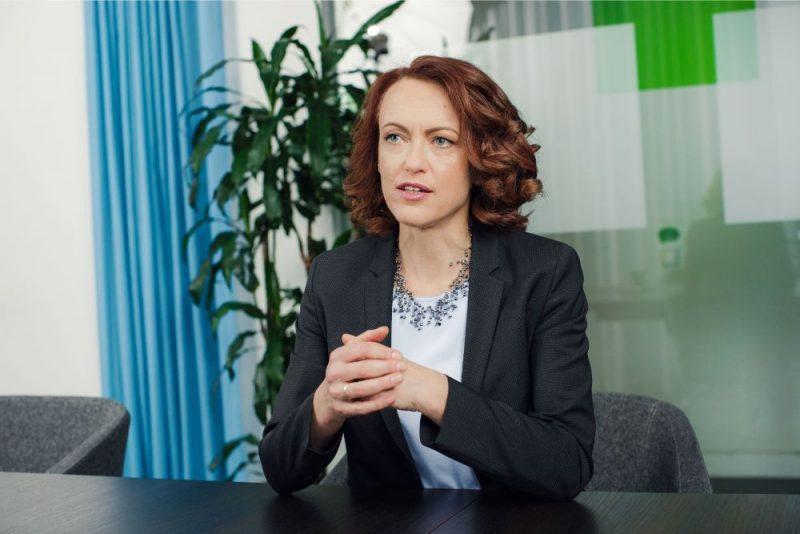 "Ieva Tetere, ""SEB bankas"" valdes priekšsēdētāja"