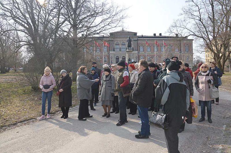 Gide stāsta par Upsālas universitāti – vecāko universitāti Skandināvijā.