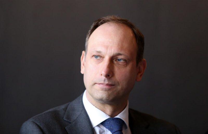 """""""Tele2"""" valdes priekšsēdētājs Valdis Vancovičs."""