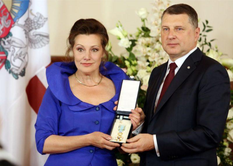 Valsts prezidents Raimonds Vējonis saka uzrunu Valsts augstāko apbalvojumu pasniegšanas ceremonijā Rīgas pilī, 03.05.2019.
