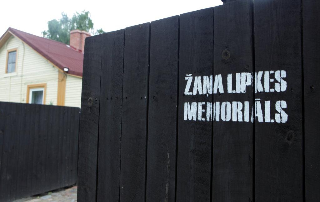 Žaņa Lipkes memoriāls Balasta dambī.