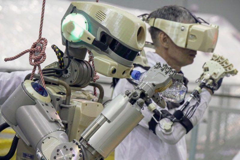 Cilvēkveidīgais robots.
