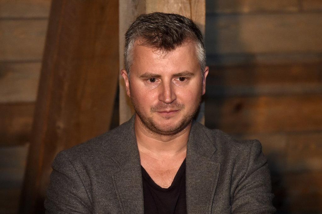 Kinorežisors, VKKF padomes priekšsēdētājs Dāvis Sīmanis.
