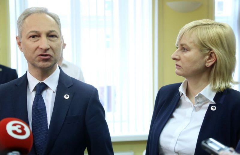 Jānis Bordāns un Juta Strīķe.