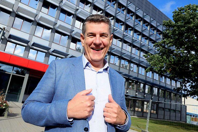 """""""Rimi Latvia"""" valdes priekšsēdētājs Valdis Turlais: """"Gribam iegūt tiešsaistes veikalā tikpat daudz klientu, cik iepērkas fiziskos veikalos, un tālākā nākotnē ceram sasniegt vēl vairāk."""""""
