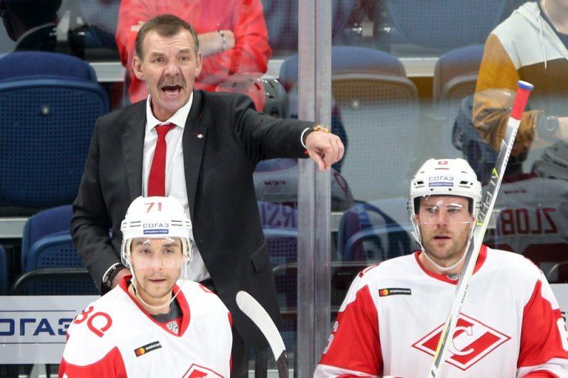 """Maskavas """"Spartak"""" galvenais treneris Oļegs Znaroks."""